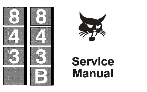 Array - bobcat 843 843b skid steer loader service repair manual      rh   servicemanualbit com