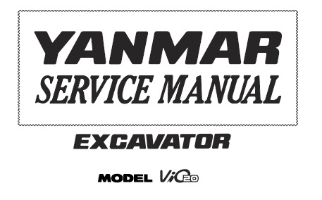 Yanmar excavator service manuals and spare parts catalogs.
