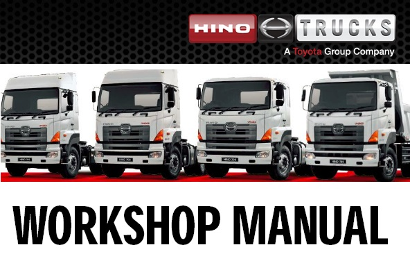 Ta Truck Service >> Hino J05d Ta Engine Service Repair Manual Service Manual