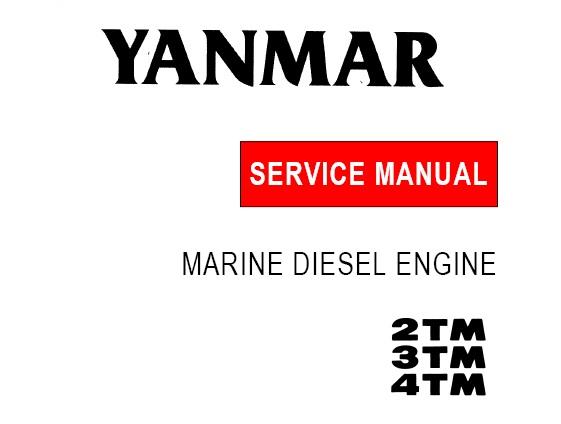 Yanmar 2TM, 3TM, 4TM Marine Diesel Engines Service Repair Manual