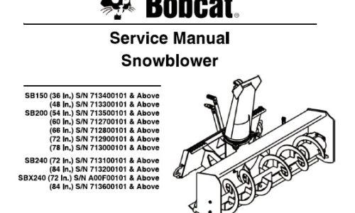 Bobcat  U2013 Page 97  U2013 Service Manual Download