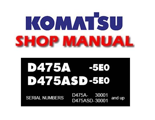 Komatsu D475a