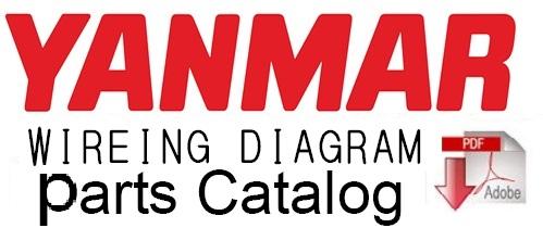 Yanmar B2U-1 Crawler Backhoe Parts Catalog Manual – Service