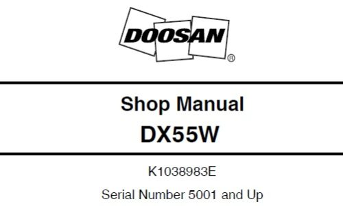 Daewoo Doosan – Service Manual Download