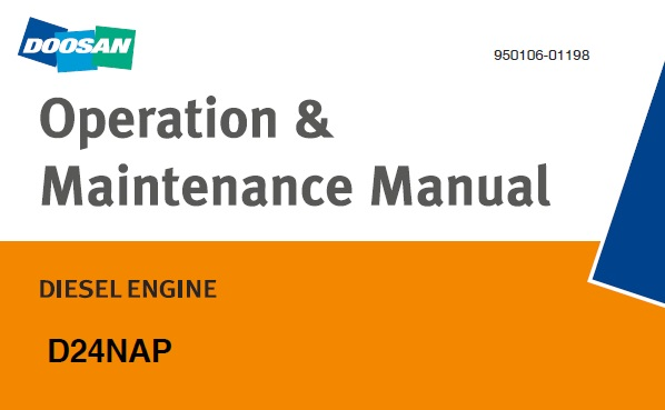 Doosan D24NAP Diesel Engine Operation & Maintenance Manual
