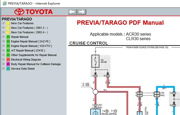 Download free toyota estima / emina / lucida (1990-1999) repair.