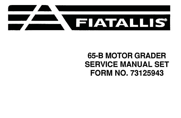 Fiat Allis 65