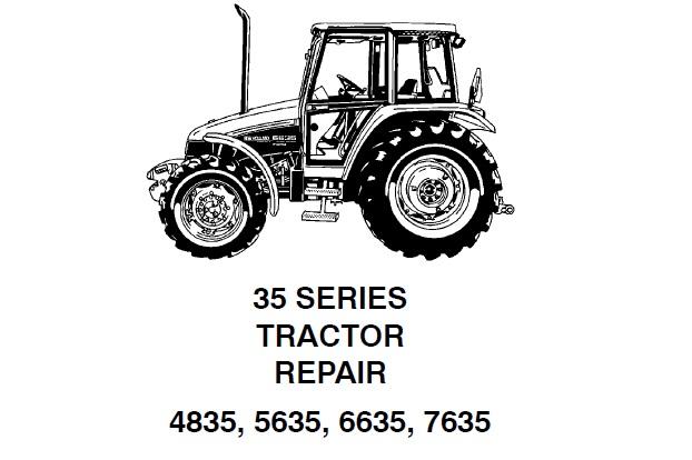 New Holland 6635 Service Manual
