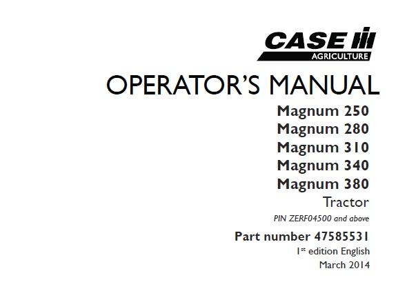 International Harvester 340 Tractor Operators Manual International ...