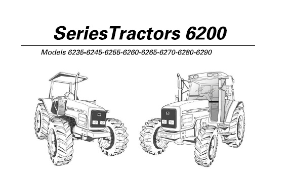 Massey Ferguson 6235 6245 6255 6262 6265 6270 6280 6290 Tractors Operation And Maintenance Manual Service Manual Download