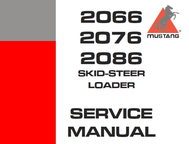 Mustang 2066 2076 2086 Sikd Steer Loader Cummins B3 3 B3 3t Engine Service Repair Manual Service Manual Download